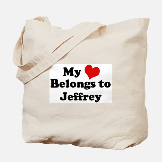 My Heart: Jeffrey Tote Bag