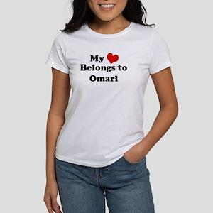 My Heart: Omari Women's T-Shirt