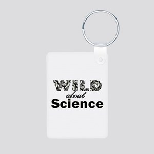 Wild About Science Aluminum Photo Keychain
