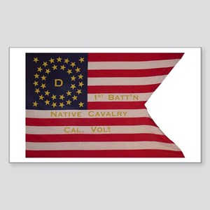 Co. D, Native California Cavalry (Rectangle 10 pk)