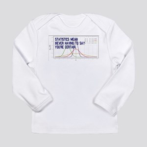 Statistics Means Uncertainty Long Sleeve Infant T-