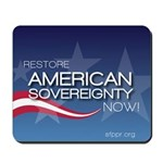 Restore American Sovereignty Mousepad