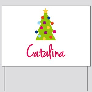 Christmas Tree Catalina Yard Sign