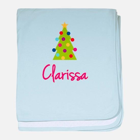 Christmas Tree Clarissa baby blanket