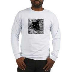 Cat in the Grass Long Sleeve T-Shirt