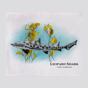 Leopard Shark Throw Blanket