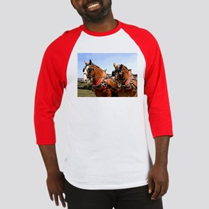 Belgian Horse Baseball Jersey