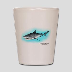 Tiger Shark Shot Glass