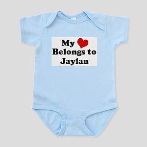 My Heart: Jaylan Infant Creeper