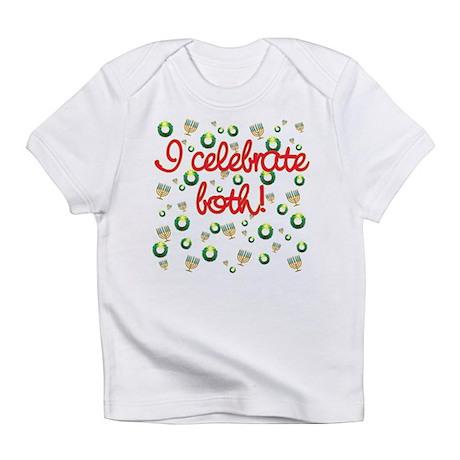 Hanukkah AND Christmas Infant T-Shirt