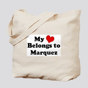 My Heart: Marquez Tote Bag