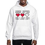Video Games Ruined My Life Hooded Sweatshirt