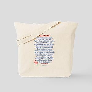 Husband Love Tote Bag