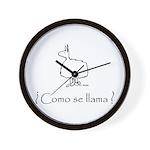 Commo se Llama 2.0 Wall Clock