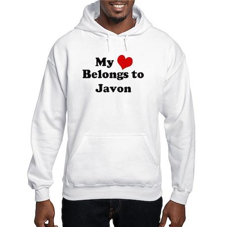 My Heart: Javon Hooded Sweatshirt