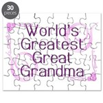 World's Greatest Great Grandma Puzzle