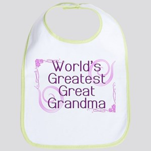 World's Greatest Great Grandma Bib