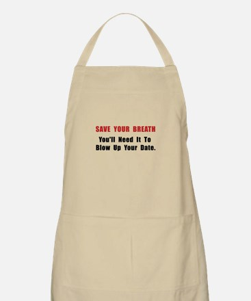 Save Your Breath Apron