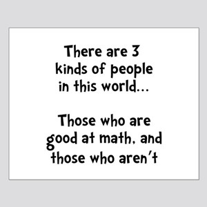 Math People Small Poster