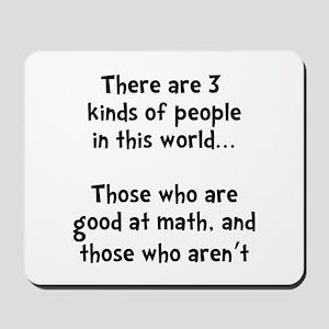 Math People Mousepad