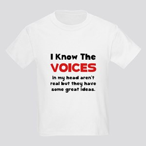 Voices In Head Kids Light T-Shirt