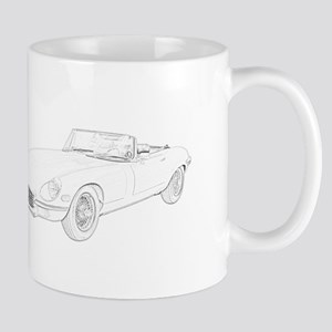 Jaguar XKE 1972 Mug