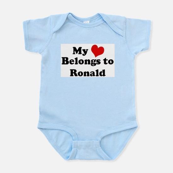 My Heart: Ronald Infant Creeper