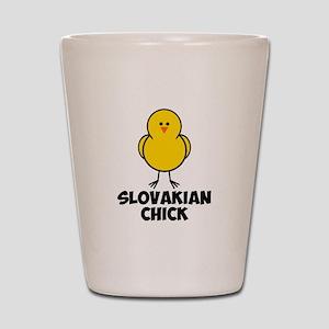 Slovakian Chick Shot Glass