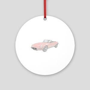 Jaguar XKE 1972 Ornament (Round)