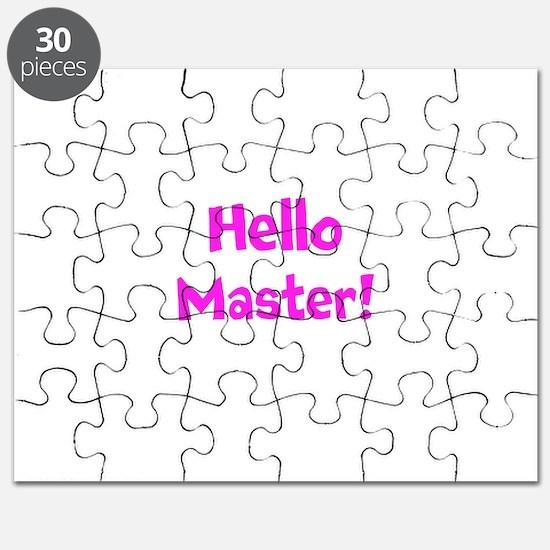 Hello Master! Puzzle