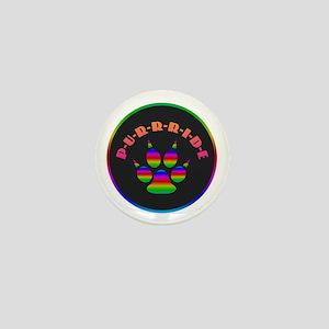 Gay Purrride Mini Button