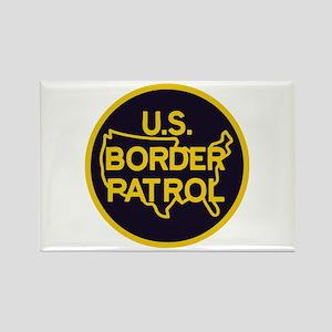 Border Patrol Rectangle Magnet