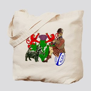 Rampant Lions Rugby Tote Bag