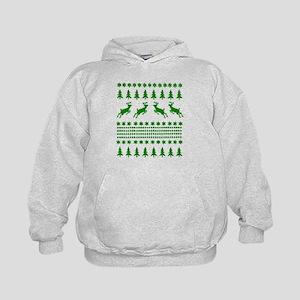 Ugly Christmas Sweater Kids Hoodie