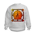 Leoguitar3 Kids Sweatshirt