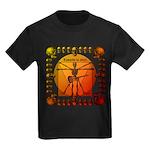Leoguitar3 Kids Dark T-Shirt