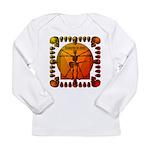 Leoguitar3 Long Sleeve Infant T-Shirt