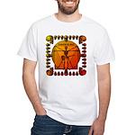 Leoguitar3 White T-Shirt