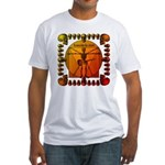 Leoguitar3 Fitted T-Shirt