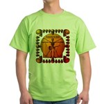 Leoguitar3 Green T-Shirt