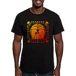 Leoguitar3 Men's Fitted T-Shirt (dark)