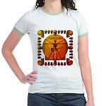 Leoguitar3 Jr. Ringer T-Shirt