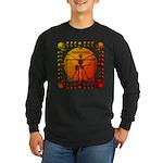 Leoguitar3 Long Sleeve Dark T-Shirt