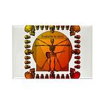 Leoguitar3 Rectangle Magnet (100 pack)