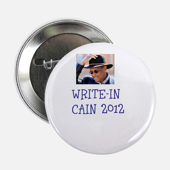 "Write-In Cain 2012 2.25"" Button"