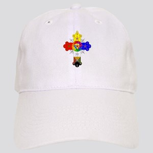 Rose Cross Cap