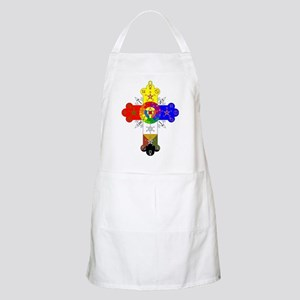 Rose Cross Apron