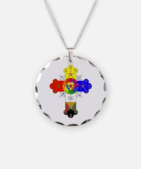 Rosicrucian jewelry rosicrucian designs on jewelry cheap rose cross necklace mozeypictures Image collections