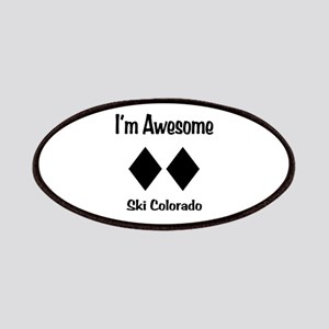 I'm Awesome Ski Colorado Patches