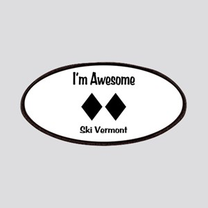 I'm Awesome Ski Vermont Patches